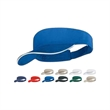 Brushed cotton twill visor with sandwich peak - Brushed cotton twill visor with sandwich peak, blank.
