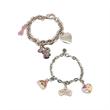 Bracelet - Charm bracelet with 3 custom charms.