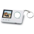 "Keychain digital picture frame - Keychain with digital picture frame that has a 1.5"" CSTN screen, 1MB memory and can hold approx. 60 photos."