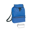Cooler / backpack - Cooler with foldable backpack.