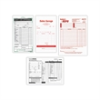 Custom Business Form - Custom 1-part carbonless laser business form.