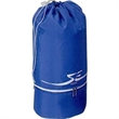 Drawcord cooler bag - Drawcord cooler features drawcord top compartment with barrel lock.
