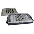 Games - Metal 4 in 1 magnetic game set, chess, checkers, backgammon, solitaire.