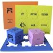 """Foam Puzzle Cube 1.5"""""""