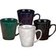 12 oz. Glossy Funnel Mug - 12 oz. Ceramic cobalt glossy funnel mug.