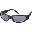 Racer Wrap Sunglasses - Wraparound sunglasses with matte black nylon frame.