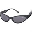 Snake Wrap Sunglasses - Wraparound sunglasses with black nylon frame and gray lenses-very cool!
