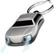 Car Key Chain - Car flashlight key chain.