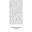 116 Words Message Magnet