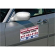 Car Sign Small Rectangle Magnet