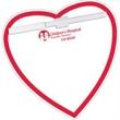 Memo Board Heart w/ Mag - Memo Board Heart w/ Mag