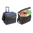 Cooler - Compressible rolling cooler holds ice and 72 cans, blank.