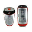 ABS thermoelectric can cooler - ABS thermoelectric can shape cooler, 12 can capacity.