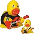 Rubber Rock N Roll Duck - Rubber duck, rock-n-roll duck.