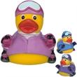 Snow ski rubber duck - Rubber duck, snow ski duck.