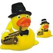 Jazz rubber duck - Rubber jazz musician duck.