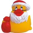 Rubber Santa Claus duck - Rubber Santa Claus duck.