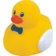 Mini rubber professor duck - Mini rubber squeaking professor duck.
