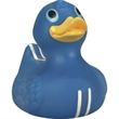 """Rubber racing stripes duck - Rubber """"racing stripes"""" designed duck, squeaking toy, balanced for floating."""