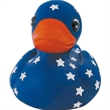 Blue rubber star gazer duck - Blue star gazer duck.