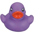 Mini purple rubber duck - Mini purple squeaking rubber duck toy, balanced for floating.