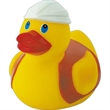 Big rubber safety duck - Big rubber safety designed squeaking duck toy, balanced for floating.