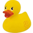 Giant rubber duck - Giant yellow squeaking rubber duck toy, balanced for floating.