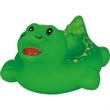 Rubber alligator soap dish - Squeaking rubber green alligator soap dish.