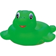 Rubber turtle soap dish - Squeaking rubber green turtle soap dish.