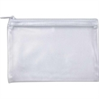 Clear handy bag - Clear vinyl handy bag with zipper closure, great for coupons and little stuff.