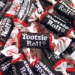 Tootsie Rolls® Candy - Chewy, Chocolate Flavor Individually Wrapped Candy, Blank.