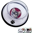 Small Pet Bowl - Small pet bowl with removable insert for a photograph.