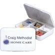 Six Compartment Pill Box