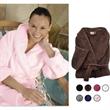Luxury Plush Robe - Soft plush robe. 2 side pockets & tie closure. One size fits most. Blank.