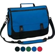 Expandable Briefcase - Expandable 600 denier polyester fabric briefcase. Large zippered compartment.