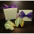Chocolate Covered Fortune Cookie Pail - Take-out pail with 2 custom chocolate covered  fortune cookies.