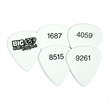 guitar picks - Custom guitar picks with sequential numbering.