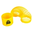 "Fun Flexible Coil Spring - E667YEL - Coil spring with diameter of 3 1/4"", solid yellow."