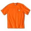 Workwear T-Shirt - Short Sleeve Pocket T-Shirt with tagless neck label.