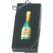 1 oz. Foil Wrapped Molded Chocolate Champagne Bottle