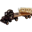Pistachios in Flat Bed Truck - Pistachios in an imported flat bed truck.
