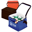Happy Days 210D Cooler Bag - Insulated 6-can Cooler 210D Nylon exterior/ Vinyl liner