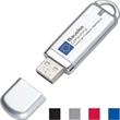 "Chic USB flash drive - Popular design USB flash drive, 2 1/2"" x 3/4"". ""FREE SETUP""."