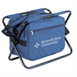 Deluxe Cooler Chair - Deluxe insulated cooler chair with steel frame that holds up to 18 cans.