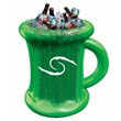 Inflatable beer mug shaped cooler - Inflatable beer mug shaped cooler.
