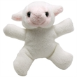 """3"""" Lamb Magnet with shirt and one color imprint"""