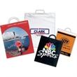 Custom White Snap Loop Handle Bag