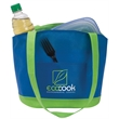 Poly Pro Lunch To Go - Polypropylene lunch cooler with front pocket, handles and hook and loop tape closure.