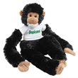 "Chelsea (TM) Manny Plush Monkey - Stuffed monkey with overall size 23""."