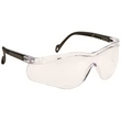 Eye glass - Single-piece lens wrap-around safety glasses.